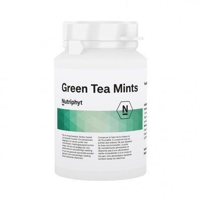 GREEN TEA MINTS®  Groene thee in zuig/kauwtabletten