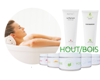 Box - Bad/ Douche/ YogiBody Quantum HOUT- Phyto 5