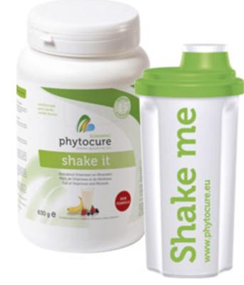 SHAKE IT - NUTRIENTEN - 630gr  PHYTOCURE + Gratis Shaker