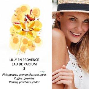 Lilly en Provence Eau de Parfum vrouwen 50ml